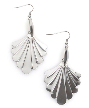 Dangle Earrings Stainless Steel - IMJS0560