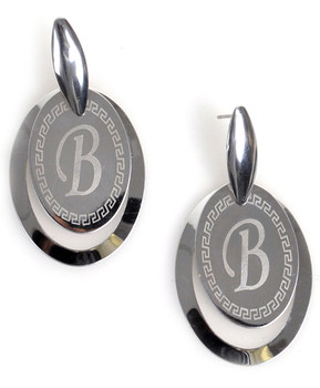 Dangle Earrings Stainless Steel - IMJS0561