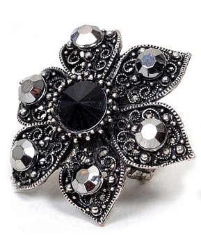 Stretch Ring Flower - IMJS0642