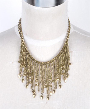 Cluster Necklace - OE1309GD