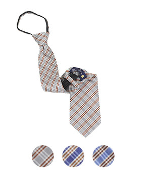 "Men's Zipper Ties for 5'5"" Tall or less - MPWZ1856"