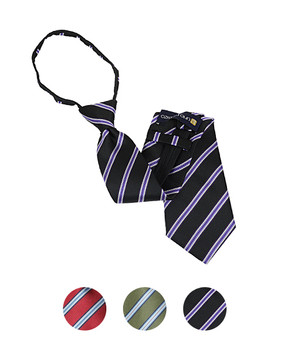 "Men's Zipper Ties for 5'5"" Tall or less - MPWZ1857"