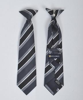 Boy's Microfiber Woven Clip On Tie MPBC2000