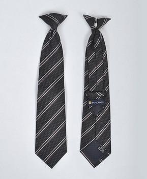 Boy's Microfiber Woven Clip On Tie MPBC2001