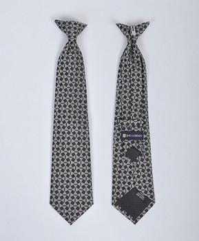 6pc Pre-Pack Boy's Microfiber Woven Clip On Tie MPBC2004