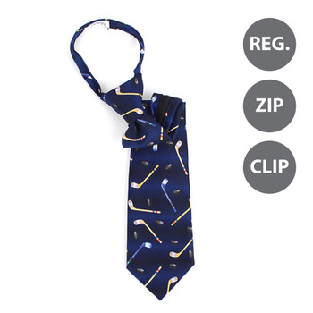 Boy's Hockey Novelty Tie BN1703-T