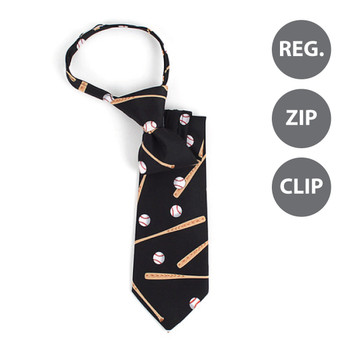 Boy's Baseball Novelty Tie BN2604-T