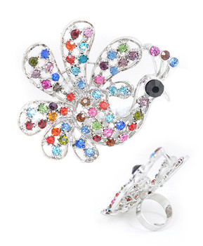 12pc Pre-Pack Adjustable Fashion Rings JS0524