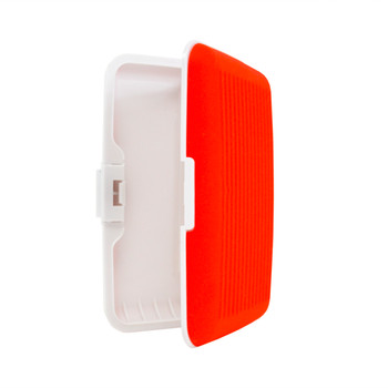 Card Guard Red Silcone Rubber Non-Slip Compact Card Holder