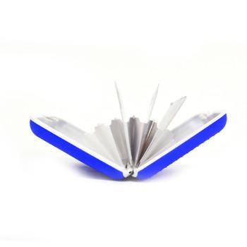 Card Guard Blue Silcone Rubber Non-Slip Compact Card Holder CASE003-BL
