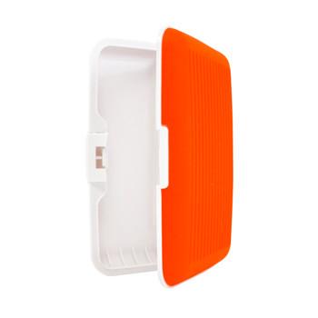 Card Guard Orange Silcone Rubber Non-Slip Compact Card Holder