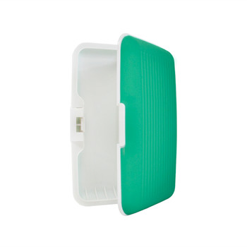 Card Guard Green Silcone Rubber Non-Slip Compact Card Holder