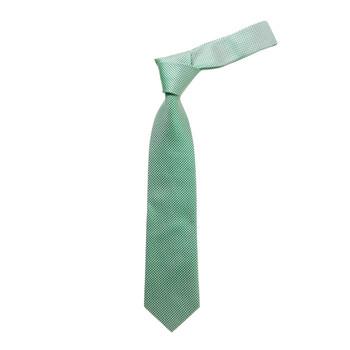 "Boy's 49"" Micro Woven Green Fashion Tie"