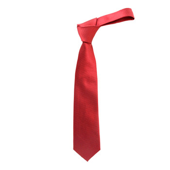 """Boy's 49"""" Woven Red Fashion Tie"""