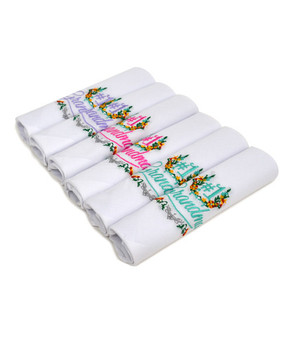 """#1 Grandma"" Cotton Embroidered Handkerchiefs LGE6006"