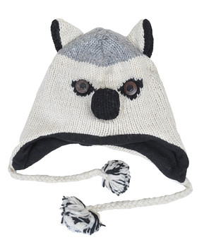 Wool Animal Hats Husky - AHW700
