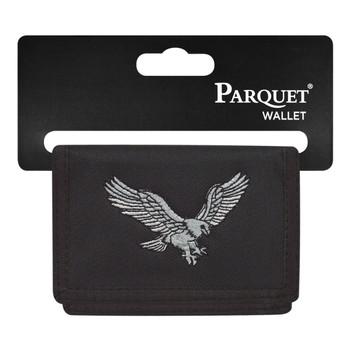 6pc Men's Polyester Tri-fold Velcro Wallets MW10110