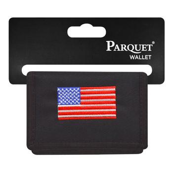6pc Men's Polyester Tri-fold Velcro Wallets MW10111
