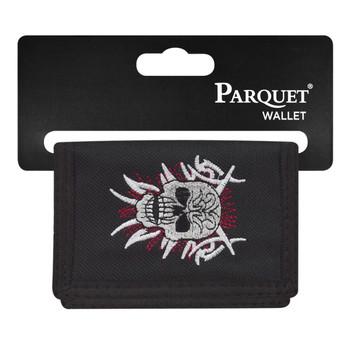6pc Men's Polyester Tri-fold Velcro Wallets MW10113