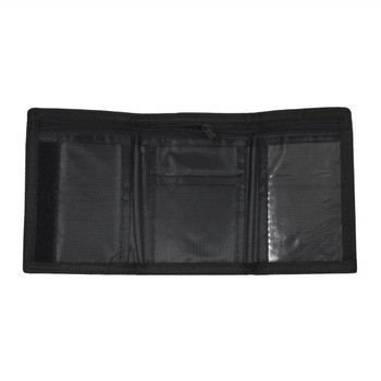 Men's Polyester Tri-fold Velcro Wallets MW10117