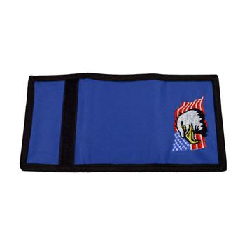 Men's Polyester Tri-fold Velcro Wallets MW10120
