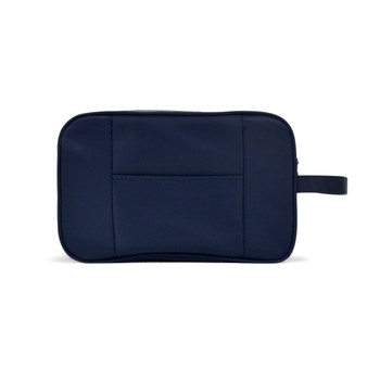 Navy Travel Kit Bag