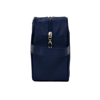 Men's Navy Travel Kit Bag