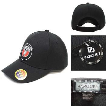 Medical Symbol Black Embroidered Baseball Cap