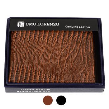 Bi-Fold Genuine Leather Lizard Wallet MLZ2446