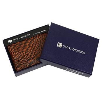 Bi-Fold Genuine Leather Wallet MGLW-A14C