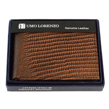 Bi-Fold Genuine Leather Brown Wallet MLZ2448BR