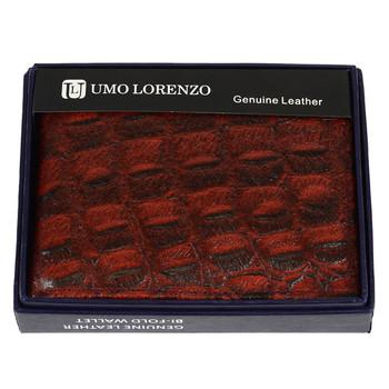 Bi-Fold Genuine Leather Burgundy Wallet MLCR2446BURG
