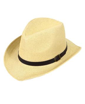 """2.5"""" Brim Cowboy Fedora Hats - H9217"""