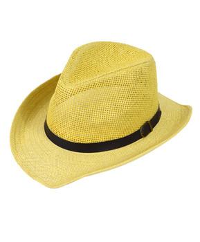 """2.5"""" Brim Cowboy Fedora Hats - H9216"""