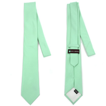 """3"""" Poly Solid Satin Tie & Matching Hanky Set PSTH1301S"""