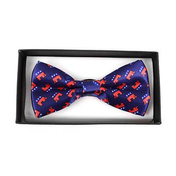 Men's Republican Banded Bow Tie