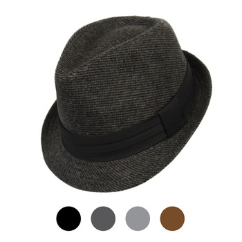 Fall/Winter Poly/Cotton Westend Fedora Hats H10336