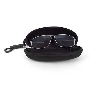 Semi Hard Zip Up Sunglasses Eyeglasses Case w Belt Loop