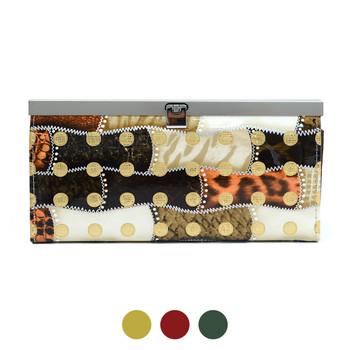 Faux Leather Wallet PUR1250