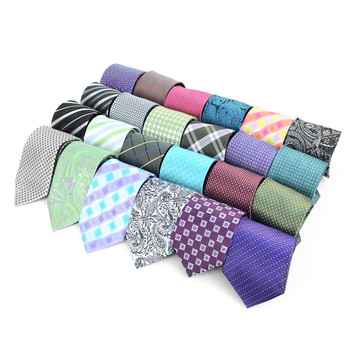 72pc Random Assorted Microfiber Poly Woven Ties MPW72ASST
