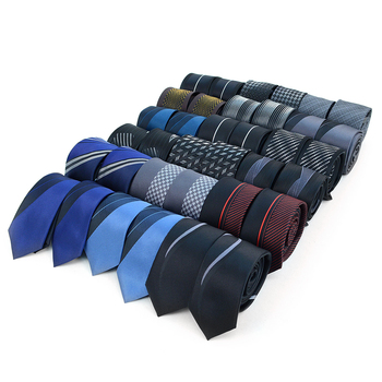36pc Random Assorted Microfiber Poly Woven Panel Slim Ties MPWSPL36ASST