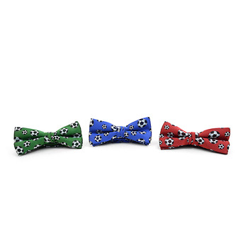 Men's Soccer Ball Banded Bow Tie