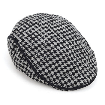 Fall/Winter Houndstooth Ivy Hat - H9413