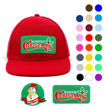 Winter Holiday Promotional Solid Blank Embroidery Patch Baseball Cap, Hat