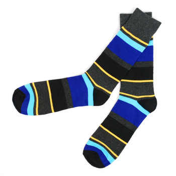 12pc Pack Striped Feraricci Sock MFS3480