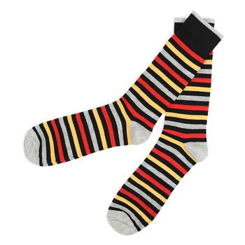 Men's 12pc Pack Striped Feraricci Sock MFS3481