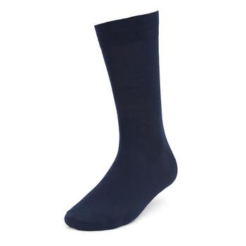 3pcs (3 Pairs) Men's Solid Dressy Fancy Socks 3PKS-DRSY1