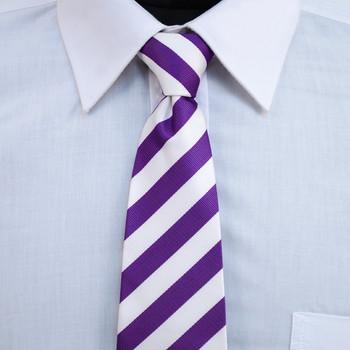 "Boy's 14"" College Zipper Tie MPWBZ"