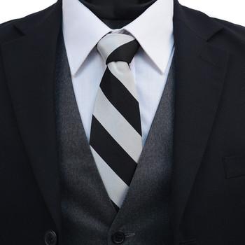 Men's X-Long Silk Woven College Tie SCT2400X