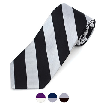 Men's X-Long Silk Woven College Tie SCT2400X
